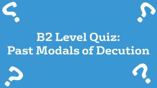 Past Modals of Deduction
